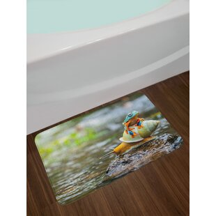 Funny Frog Bath Rug