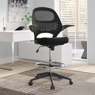 Wakefield Mesh Drafting Chair by Ebern Designs