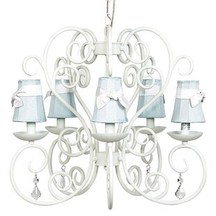 Jubilee Collection Carriage 5-Light Shaded Chandelier