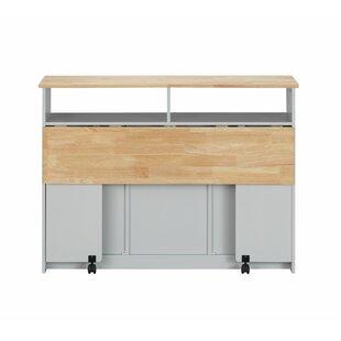 Chanhassen Kitchen Cart Ebern Designs
