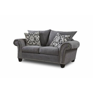 Darby Home Co Panorama Loveseat