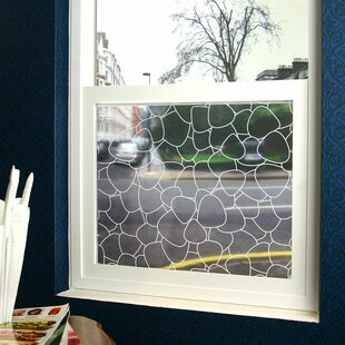 Pebbles Sheer Window Film by Stick Pretty