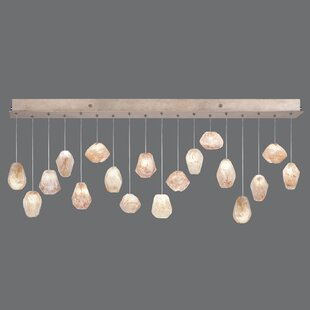 Natural Inspirations 18-Light Cluster Pendant by Fine Art Lamps