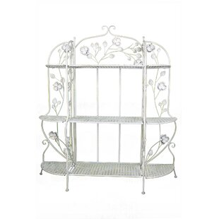 Ophelia & Co. Cheddington Stainless Steel Baker's Rack