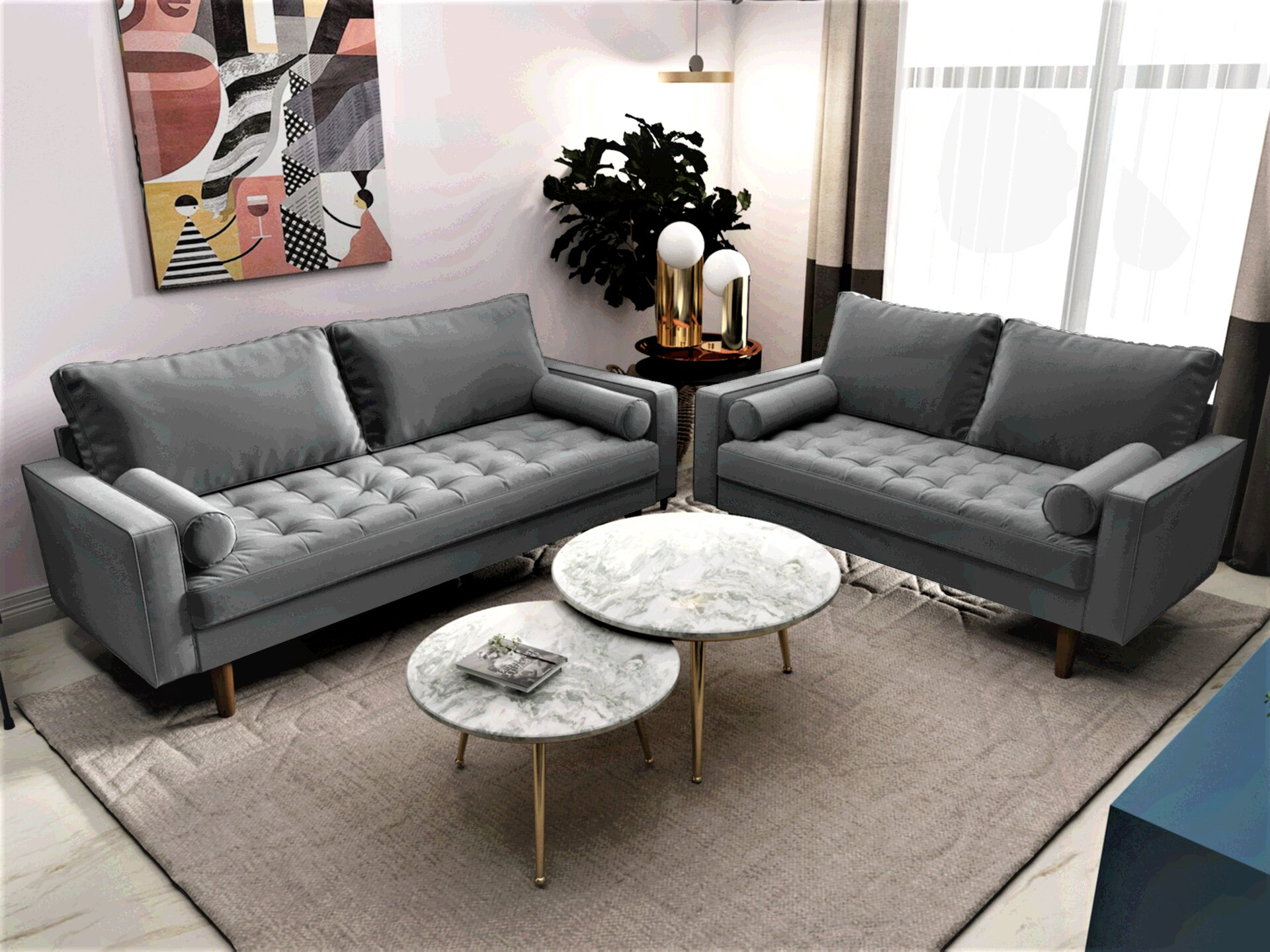 Grey Living Room Sets Couches You Ll Love In 2020 Wayfair
