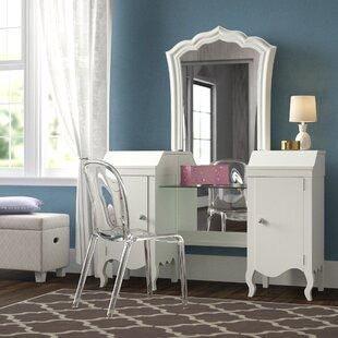 Yardley Vanity Table with Mirror by Viv  Rae