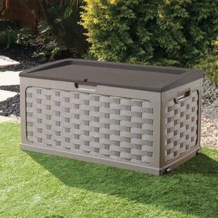 71 Gallon Plastic Deck Box by Starplast