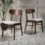Barros Solid Wood Dining Chair (Set of 2)