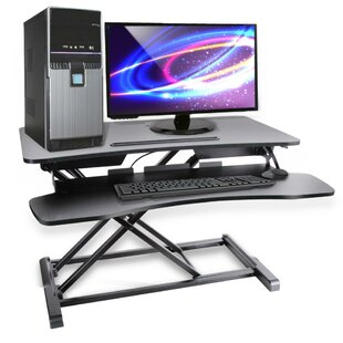 Universal Computer Laptop Workstation Height Adjustable Standing Desk Converter