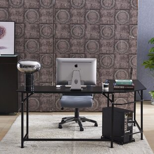 Menasha L-Shape Executive Desk by Latitude Run Looking for