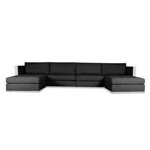 UShaped Sectionals Youll Love Wayfair - U shaped leather sectional sofa