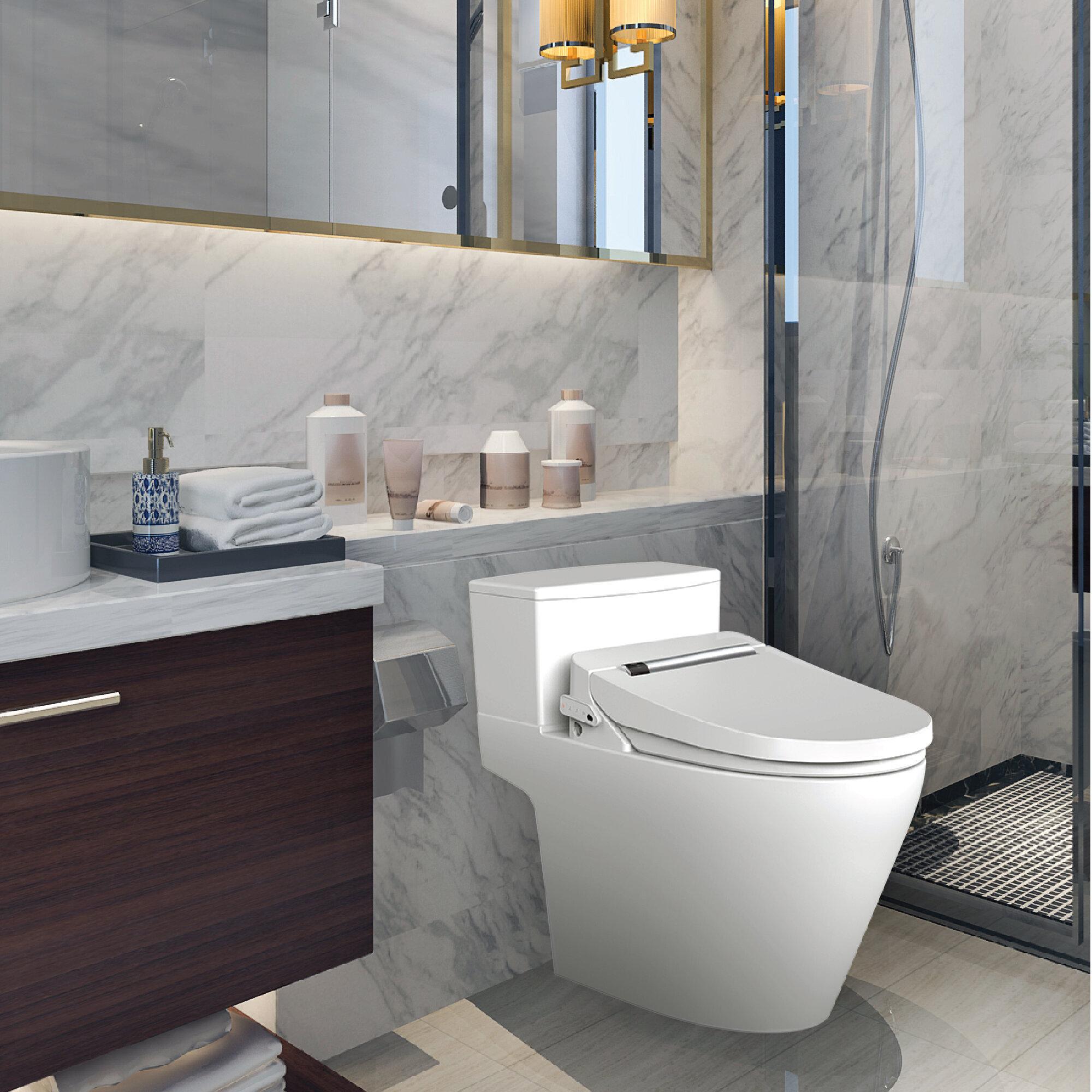 Temperature Spray Bathroom Toilet Bidet Seat Water Shattaf Shower Head