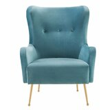 Amazing Modern Contemporary Tall Wingback Chair Allmodern Ocoug Best Dining Table And Chair Ideas Images Ocougorg