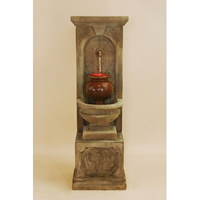 St. Helena Concrete Urn Fountain Giannini Garden Ornaments
