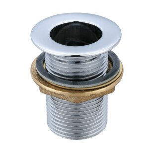 Central Brass Socket 0Pop-Up Bathroom Sink Drain with Overflow
