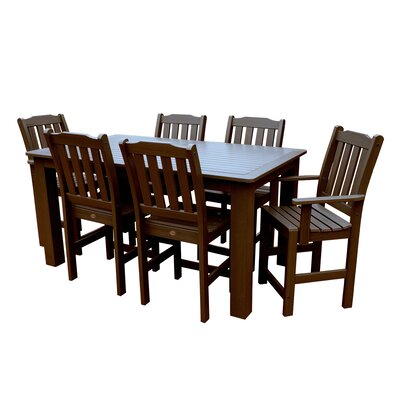 Phat Tommy 7 Piece Dining Set Buyers Choice Table Size: 30 H x 36 W x 72 L, Finish: Acorn