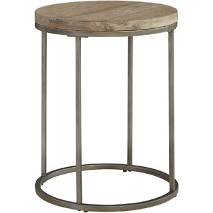Louisa Circular End Table