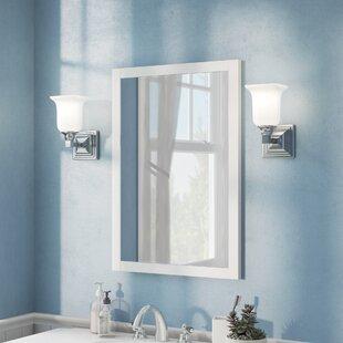 Bathroom mirror lighting Mounted Quickview Wayfair Bathroom Mirror Side Lights Wayfair