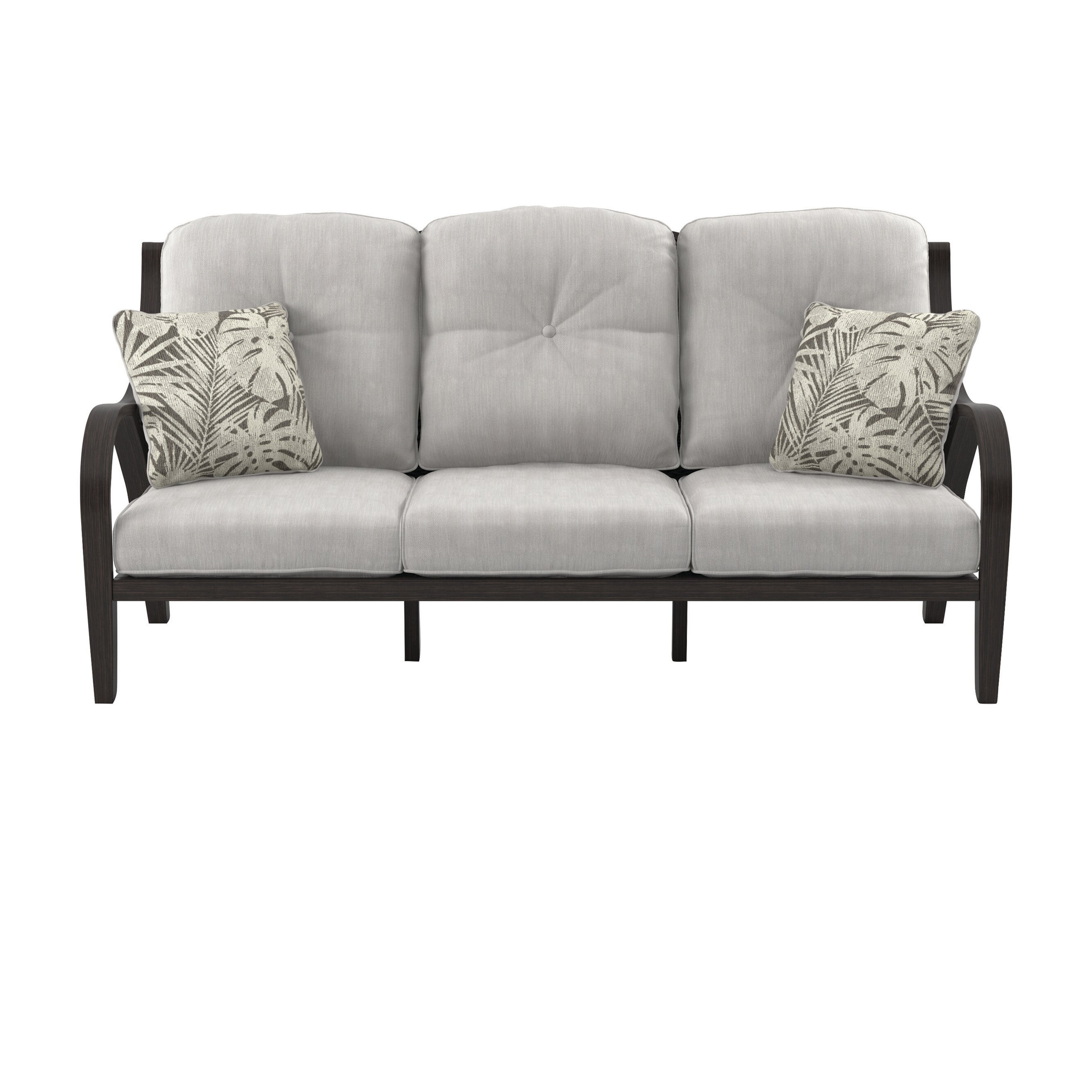 Bayou Breeze Kohn Patio Sofa with Cushions