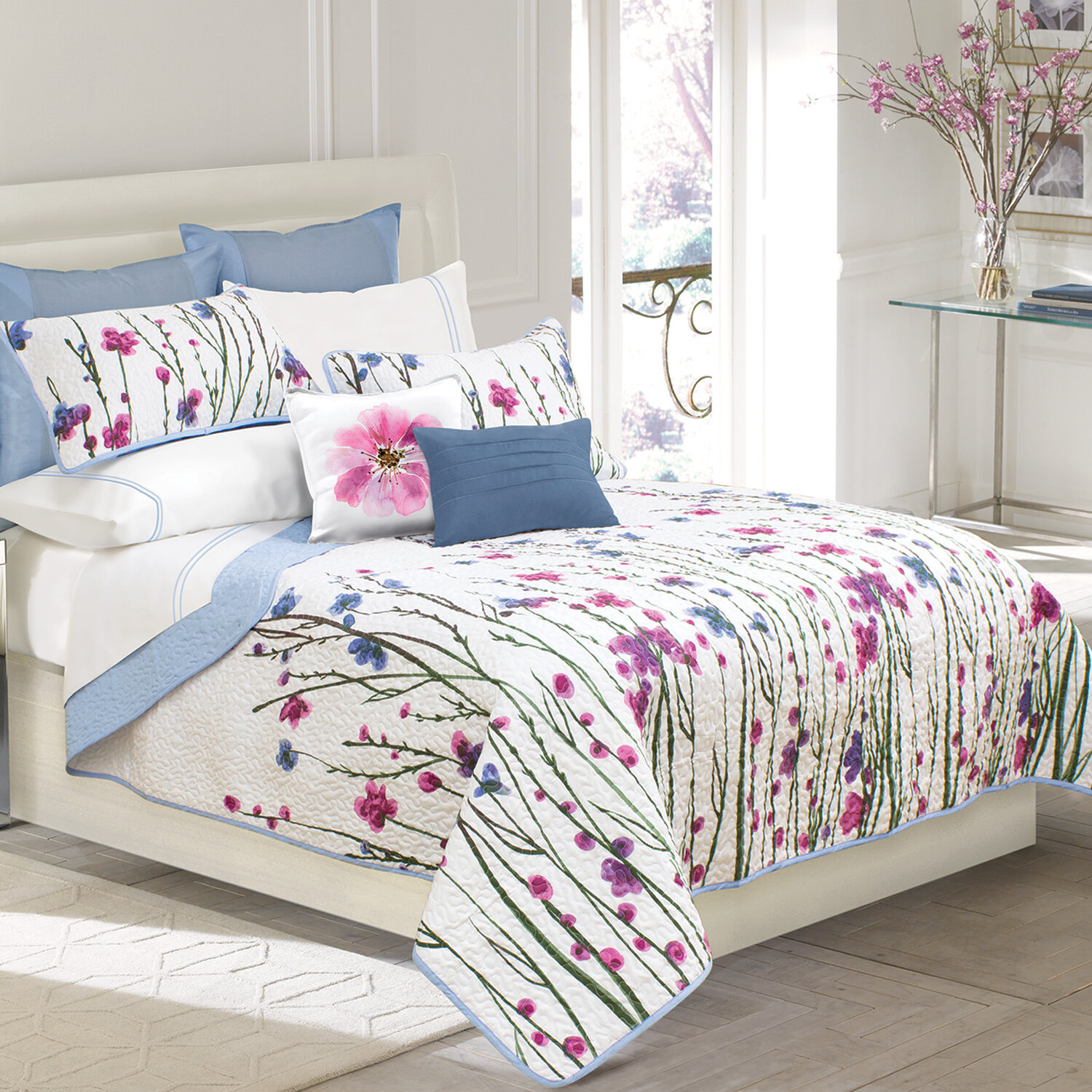 Wayfair Nature Floral Purple Bedding You Ll Love In 2021