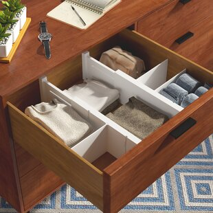 Rebrilliant Expandable 5 Piece Drawer Organize Set