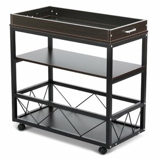Sowa 3-Tier Bar Cart by Winston Porter