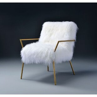 Read Reviews Pinkie Wool Armchair by Everly Quinn Reviews (2019) & Buyer's Guide