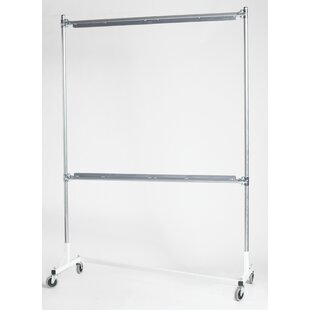 Online Reviews 33 Whiteboard Rails For Heavy Duty Garment Rack (Set of 2) By Quality Fabricators