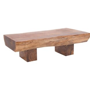 Bell Natural Wood Coffee Table