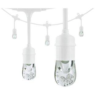 Comparison Classic LED Café 24 Light Globe String Lights By Enlighten ® by Jasco
