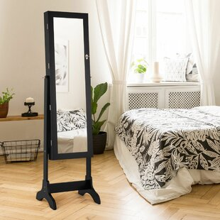 Looking for Mynatt Free Standing Jewelry Armoire with Mirror ByWinston Porter