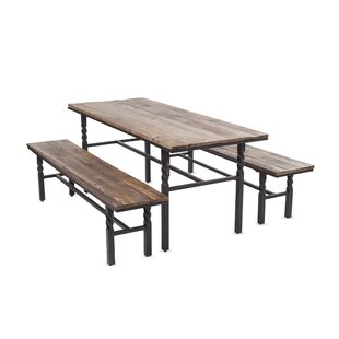 Deep Creek 3 Piece Dining Set by Plow & H..