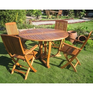 Sabbattus Marbella 5 Piece Dining Set by ..
