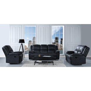 Bramhall Reclining 3 Piece Living Room Set
