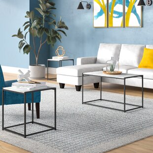 Wrought Studio Andresen 3 Piece Coffee Table Set