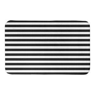 Valdovinos Stripe Bath Rug