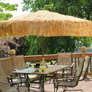 Parasol 9' Tropical Patio Umbrella