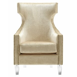 Kamen Wingback Chair by Willa ..