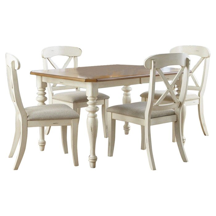 5 Piece Dining Sets liberty furniture 5-piece marnie dining set & reviews | wayfair