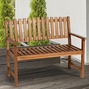 Beechmeadow Wooden Bench By Sol 72 Outdoor