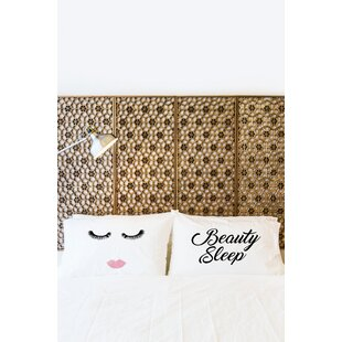 2 Piece Beauty Sleep Pillowcase Set