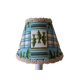 Look for Reel It In 11 Fabric Empire Lamp Shade By Silly Bear Lighting