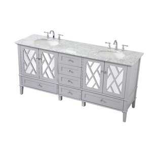 Solihull 72 Double Bathroom Vanity Set by Ivy Bronx