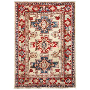 Croxley Hand Knotted Cotton Red Rug by Rosalind Wheeler