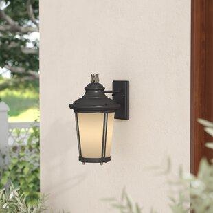 Maria 1-Light Outdoor Wall Lantern by Fleur De Lis Living