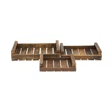 Crosstown 3 Piece Accent Tray Set