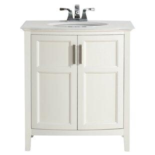 Winston 31 Single Rounded Front Bathroom Vanity Set