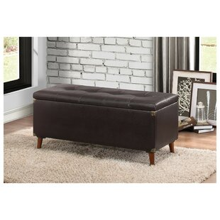 Stalybridge Lift-up Faux Leather Storage Bench