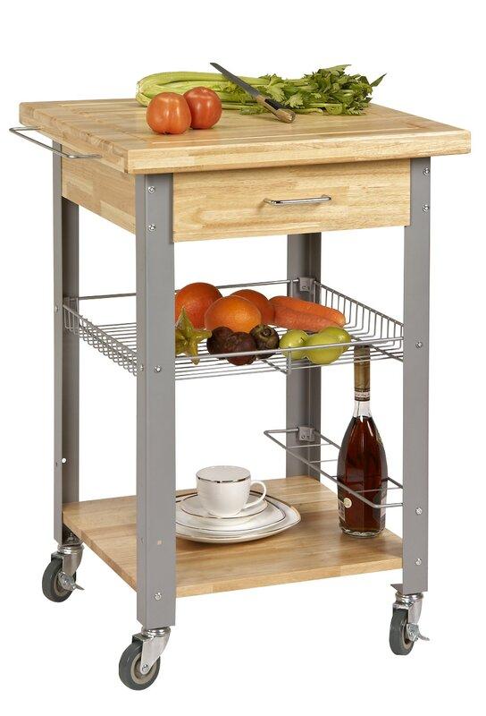 Rolling Storage And Organization Kitchen Cart