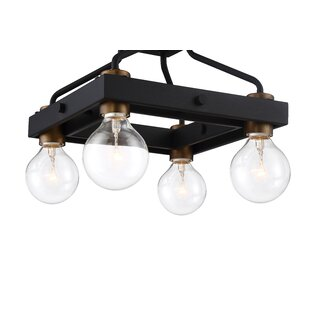 Chico 4-Light Semi Flush Mount by Mercer41